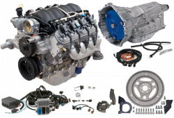 Chevrolet Performance Parts - Chevrolet Performance LS3 430 HP Engine with 6L80E 6-Speed Auto Transmission Combo Package CPSLS36L80E - Image 1