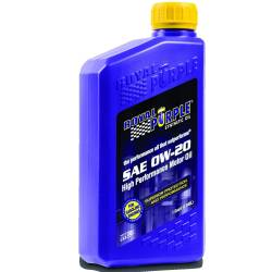 Royal Purple - RPM - RPM05020 - Royal Purple 0W20 Synthetic Motor Oil - 5 Gallon Pail
