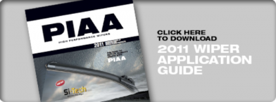 PIAA Wiper Blade Application
