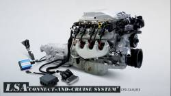 Crate Engines -  Connect and Cruise Kits - GM Performance Parts - CPSLSA4L85E Connect & Cruise - $750.00 Rebate -  S/C LSA  556HP  Engine w/4L85E Trans