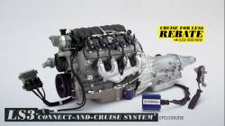 Crate Engines -  Connect and Cruise Kits - GM Performance Parts - CPSLS34L65E Connect & Cruise - $500.00 Rebate -  LS3 430HP & 4L65E Trans