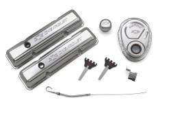 Proform - 141001 - Engine Dress-Up Kit - SBC, Chrome Stamped Steel