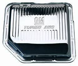 Proform - 141250 - GM Turbo 350 Chrome Transmission Oil Pan