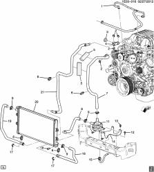GM (General Motors) - 22901367 - Camaro Zl1 Intercooler Fluid Pump - Image 2