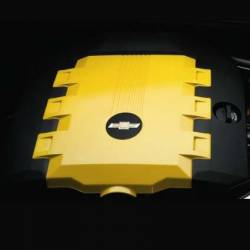GM (General Motors) - 92219188 - 2010-13 Camaro V6 (LFX) Engine Cover, Rally Yellow (GCO) - Image 2